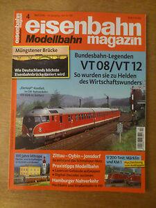 eisenbahn Modellbahn magazin Nr.4 April 2016
