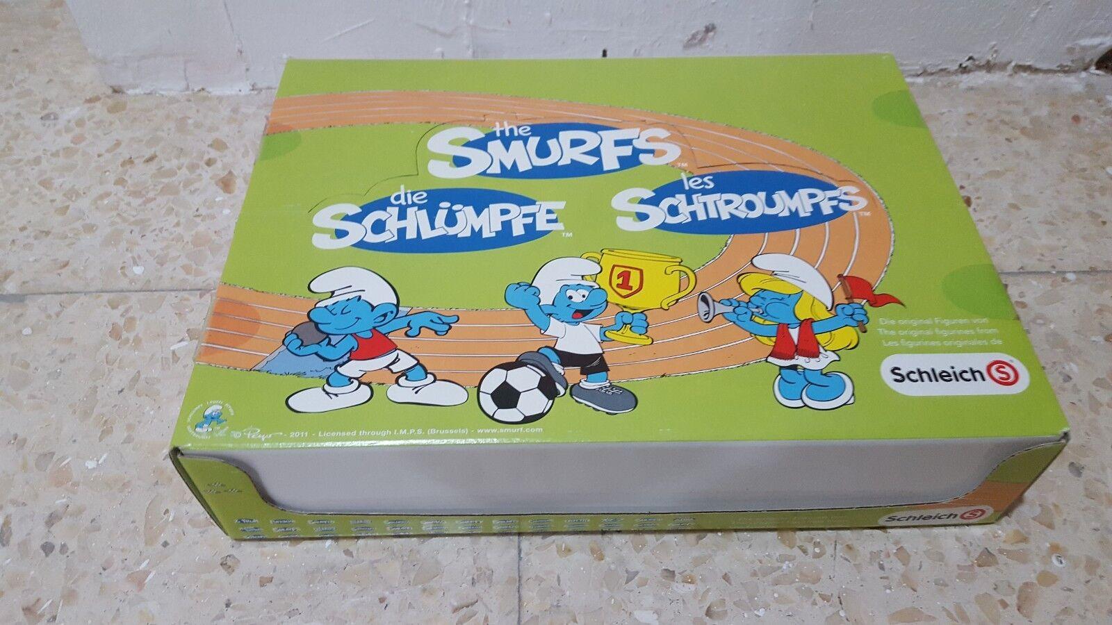 Schleich 20903 x 30 Pitufos Olimpiadas Caja completa NUEVA a estrenar