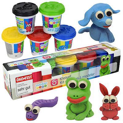 1,78€//100g 500g Play Toys Knetset Knetmasse Softknete Modellierknete 5 Farben