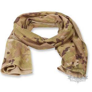 Armée britannique headover snood light olive mtp multicam vail foulard wrap