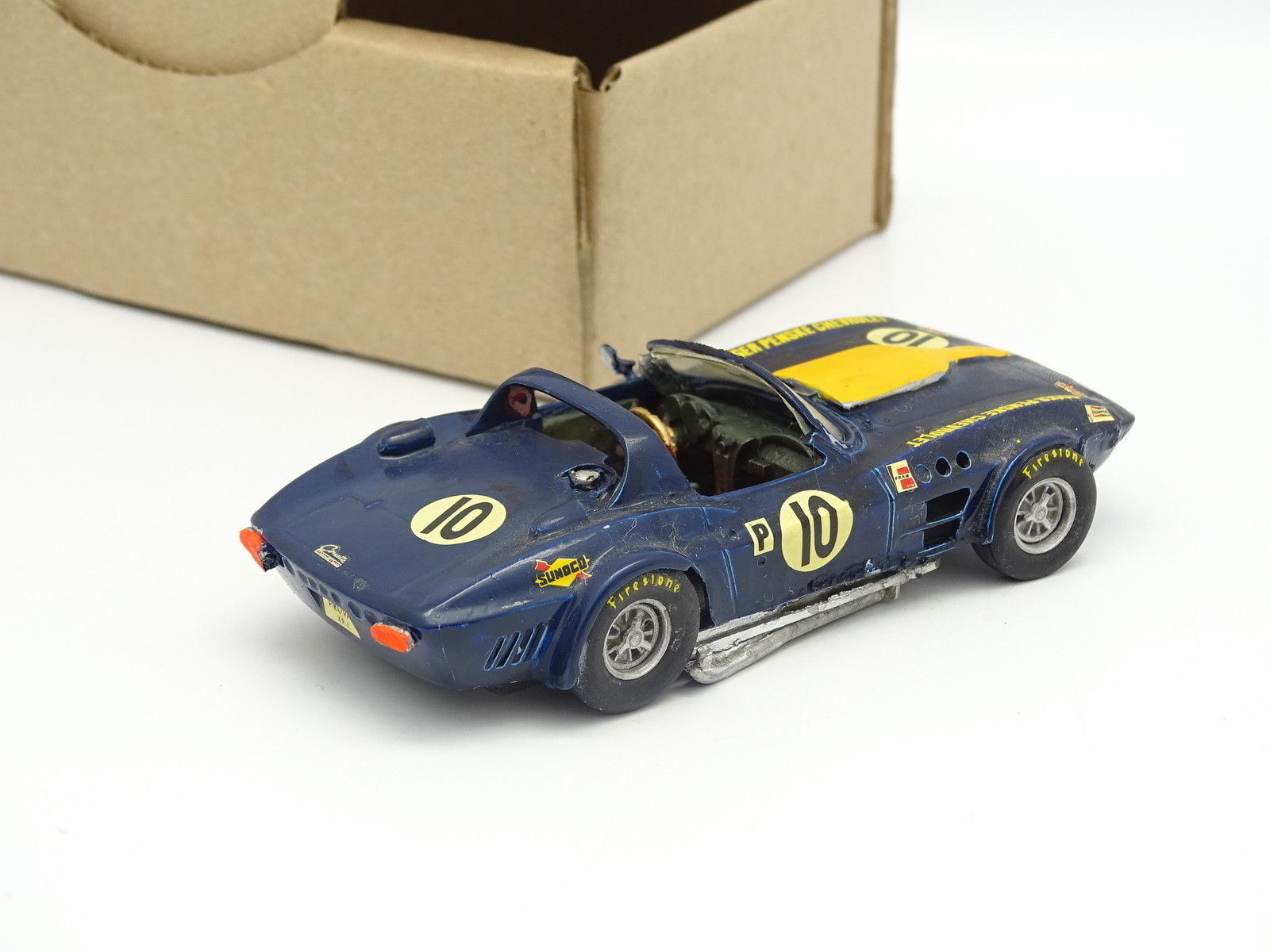 Marsh Models Kit Métal Monté SB 1 1 1 43 - Chevrolet Corvette Grand Sport Pensk 1963 23ff73