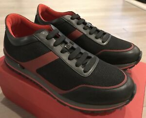 Fondo Ferrari Size Sport Us 650 Black In 10 Sneakers Tod's Made q5waxFAt