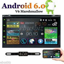 Car audio video radio player GPS Navigation 4G WiFi Android 6.0 Double Din 7inch