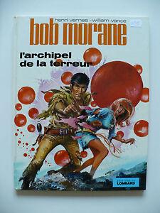 EO-tres-bel-etat-Bob-Morane-15-l-039-archipel-de-la-terreur-1972-Vance-Vernes