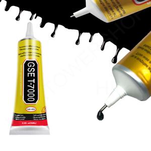 T-7000 Black Glue Super Adhesive Phone Screen Frame Sealant T7000 Craft. 0193