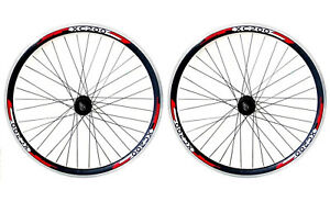29ER Rear MTB Bike Wheel DOUBLE WALL RIM BLACK 7-8-9-10 Speed Cassette Fitted