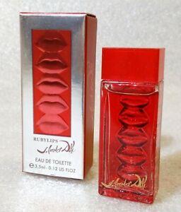 Mini-Eau-Toilette-RUBYLIPS-by-SALVADOR-DALI-Perfume-Parfum-3-5ml-0-12-fl-oz
