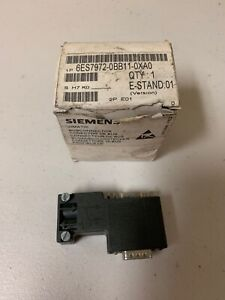 SIEMENS-6ES7972-0BB11-0XA0-BUS-CONNECTOR-NEW-FREE-SHIPPING