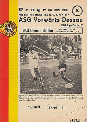 FC Vorwärts Frankfurt//O. OL 76//77  BSG Stahl Riesa
