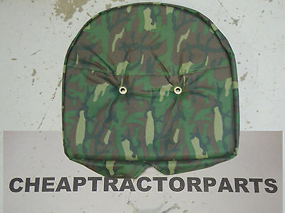 601 801 8N 2000 4000 CASE IH A B C 350 FORD TRACTOR IH CAMOUFLAGE SEAT COVER