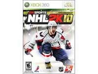 Nhl 2k10 Xbox 360 Game on sale