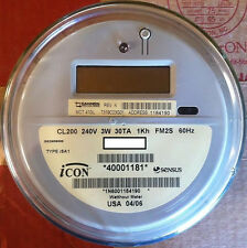 SENSUS, WATTHOUR METER (KWH) ICON, TYPE iSAI,  240 VOLTS, FM2S, 200 AMPS, 4 LUGS