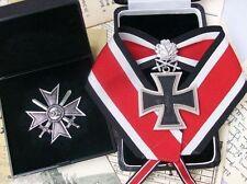 WWII WW2 WH Officer General German Knights Iron Cross Oak Leaf War Merit Set