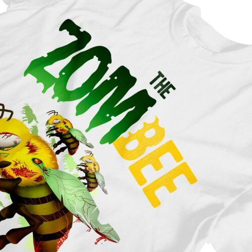 1Tee Kids Girls Zombee Bee T-Shirt