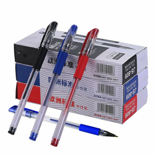 12Pcs 0.5mm ballpoint pen set gel ink pen learning stationery Student prize gift
