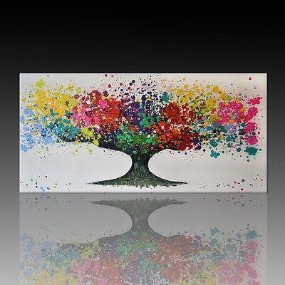 Kunstdruck auf Leinwand - Der Baum by BW (div. Größen) Street Art Graffiti