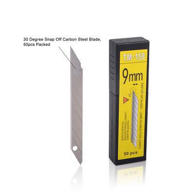 50 Stück 30 Grad Winkel 9mm Abbrechklingen Cuttermesser für OLFA Cutter DE POST
