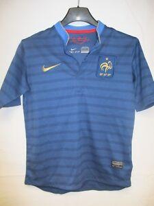 Maillot-Equipe-de-FRANCE-n-9-2012-2013-NIKE-bleu-domicile-shirt-enfant-10-12-ans