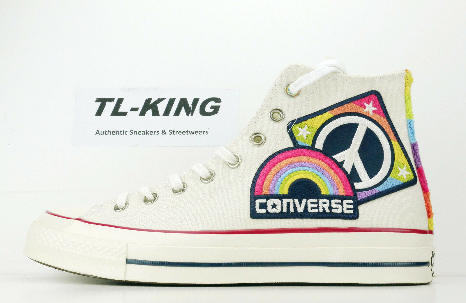 Converse Chuck Taylor All Parade Star AS 70 Hi Pride Parade All Rainbow 158420C  110 IH 624525