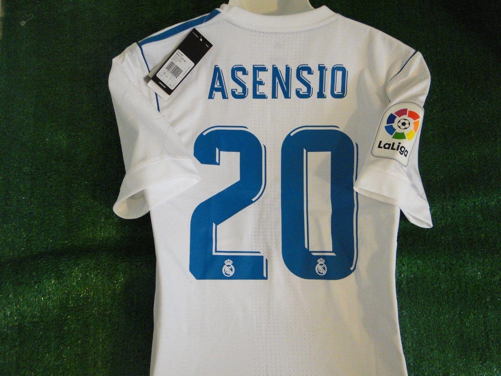 Asensio  Real Madrid  Partido adiZero Camiseta  2017-18 BNWT grandes  minoristas en línea