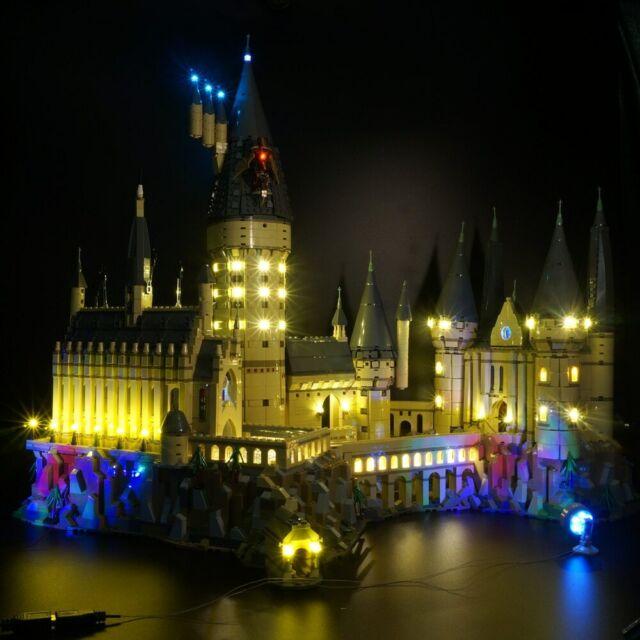 Led Light Up Kit For Lego Harry Potter Hogwart S Castle Set 71043