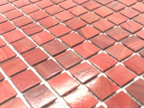 Splashback Floors Mosaic Tiles 10 sheets metre Walls 1sq Bordeaux Wine