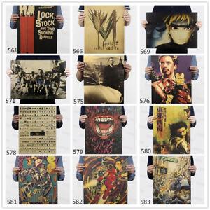 Retro-Poster-Kraft-Paper-Antique-Bar-Room-Wall-Decor-Nostalgic-Playbill