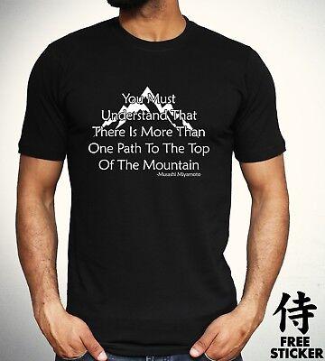 Miyamoto Musashi T-Shirt Japanese Samurai Warrior Martial Arts Japan Top 4209