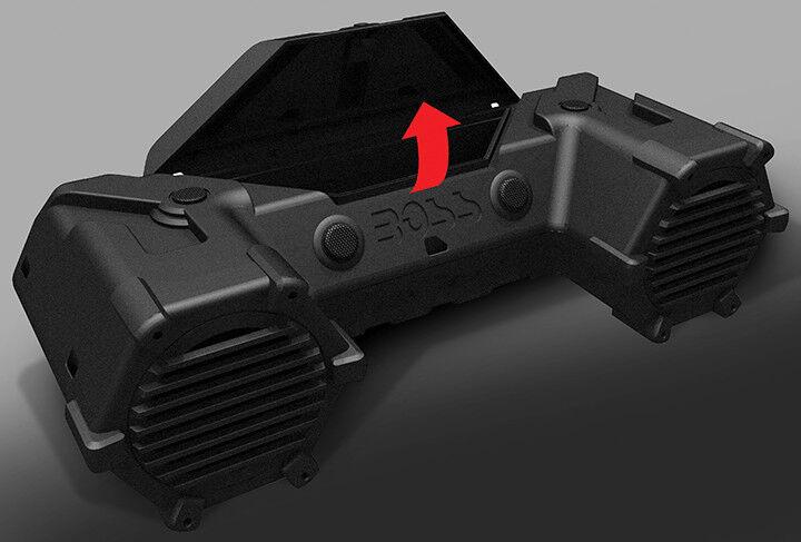 BOSS AUDIO atvb95led ATV ATV atvb95led Tonanlage 20.3cm Marine Lautsprecher Blautooth Dual da50da
