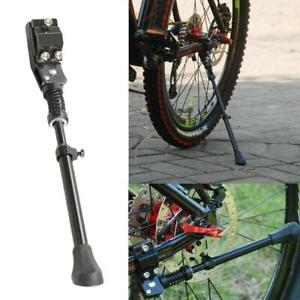ADJUSTABLE HEAVY DUTY MOUNTAIN BIKE BICYCLE CYCLE PROP SIDE REAR KICK STAND