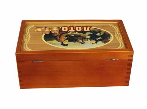 Bingospiel Lottospiel  Bingo Russische Lotto Klassischer Lotto Loto in Holzbox