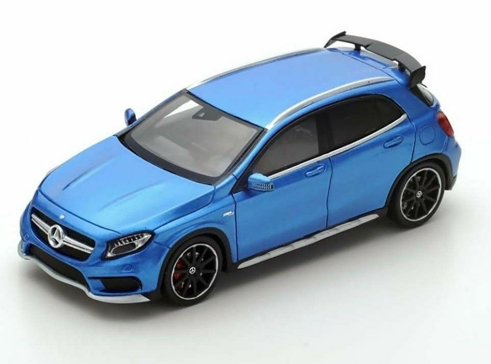Mercedes Benz GLA 45 AMG 2015 bluee S4912 Spark 1 43 New in a box