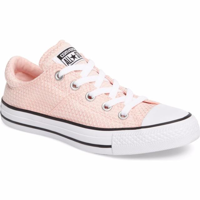 ee0ecdee641 Converse Women s Chuck Taylor All Star Madison Ox Vapor Pink Black White  Sneaker