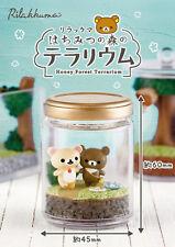 Re-Ment Rilakkuma Terrarium in honey forest All 6 types Full Set from Japan F/S