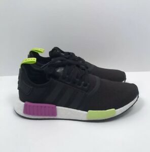 """ea07bbf0c Adidas NMD R1 """"Shock Purple"""" Athletic Shoes Mens Size 9.5 New In Box ..."""