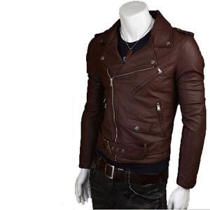 Giacca-Giubbotto-Uomo-in-di-PELLE-100-Men-Leather-Jacket-Veste-Homme-Cuir-17e