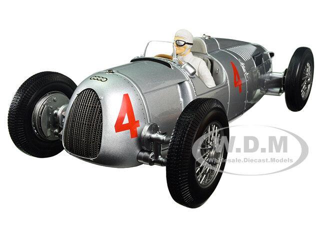 Auto Unión Tipo C 1936 Grand Prix de Mónaco 2ND lugar Varzi  18 por Minichamps 155361004