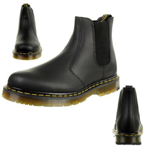 Martens Messieurs snowplow WP Black 2976 chelsea boots leather noir 24040001 Dr