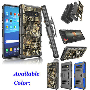 For-Samsung-Galaxy-S10-S10-S10e-Holster-Belt-Clip-Rugged-Phone-Hard-Case-Cover