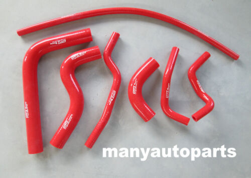 silicone radiator hose for SUZUKI SIERRA 1.3L SJ413 1984-1996 85 86 87 88 89 RED