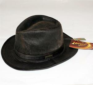 Image is loading INDIANA-JONES-Dorfman-Pacific-Weathered-FEDORA-HAT-New 0c73fd2c4fe6