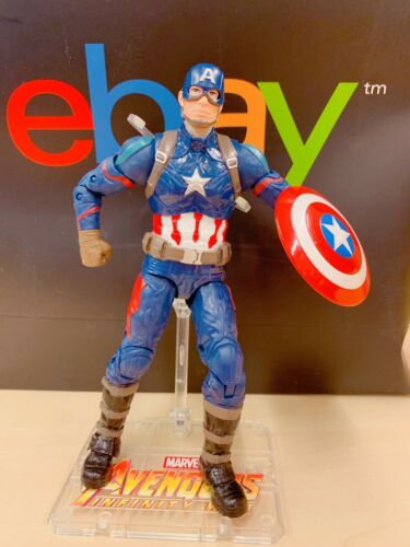 US Vendeur New W BOX Marvel Avengers Captain America Action Figure Toy