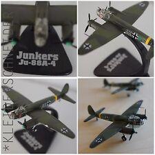 Junkers Ju-88A-4 Atlas Fertigmodell DieCast Military Aircraft Kriegsflugzeug neu
