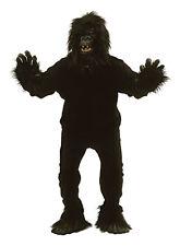Adult King Kong Gorilla Fancy Dress Costume Monkey Apre Outfit Halloween