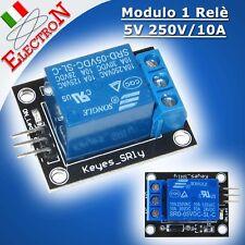 Modulo Relè 5V -250V/10A Relay Module Scheda Arduino Pic Atmega Raspberry SHIELD