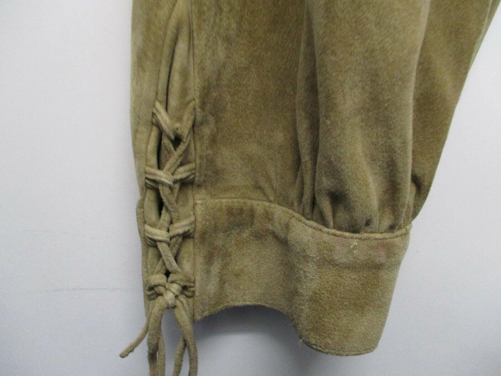AMANN - hochwertige Trachten - Lederhose (Wildleder) in Braun, Gr. 44