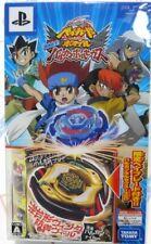 JAPAN TAKARA TOMY BEYBLADE LIMITED BBP-01 VULCAN HORUSEUS + PSP GAME RARE