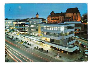 uralte AK Pforzheim Karl-Friedrich-Str. und Schloßberg mit Schloßkirche 1972//18