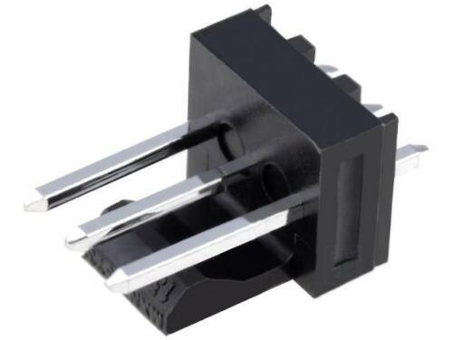 4x mx-171856-0003 hembra tubería-placa masculino KK 254 2,54mm pin 3 THT Molex