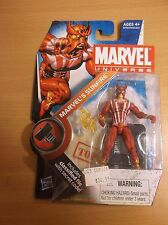 "MARVEL/'S SUNFIRE Marvel Universe 4/"" inch Action Figure #5 Series 2 Hasbro 2010"